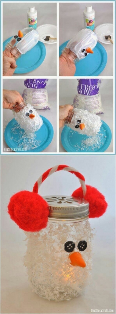 Mason Jar Christmas Crafts For Kids