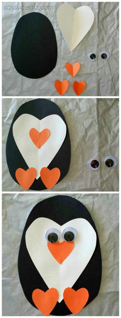 Penguin Christmas Crafts For Kids
