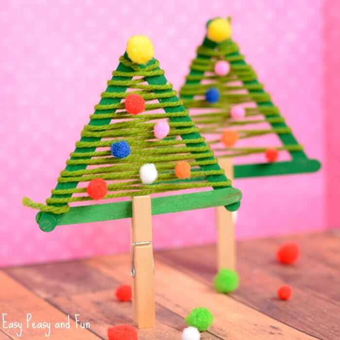 Christmas Tree Christmas Craft For Kids