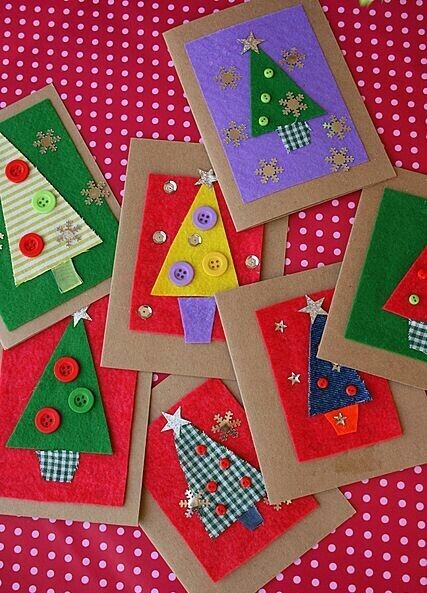 Christmas Cards Crafts For Kids