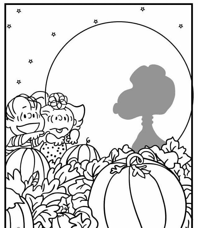 Pumpkin Thanksgiving coloring pages