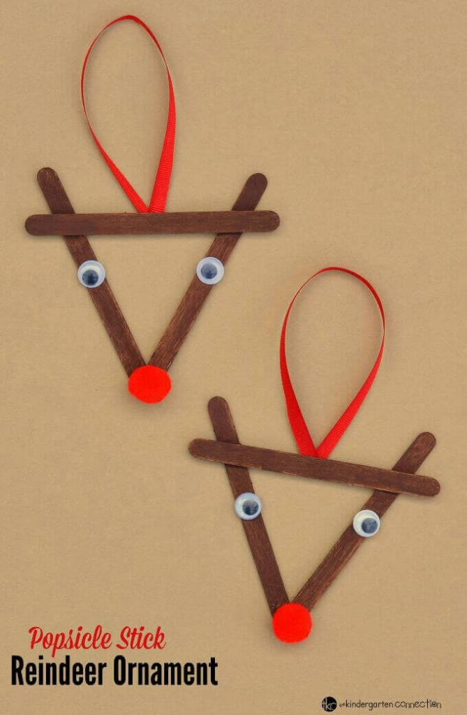 Reindeers Christmas Crafts For Kids