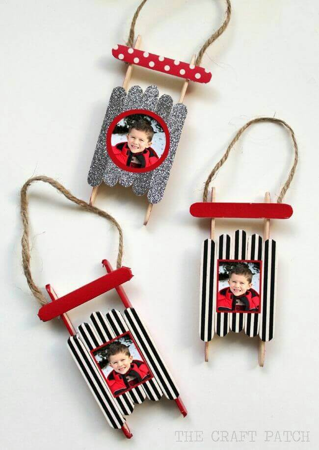 Photo Frames Christmas Crafts For Kids