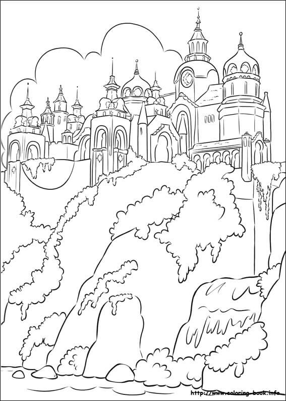 Kingdom Of Avalor Elena of Avalor Coloring Page
