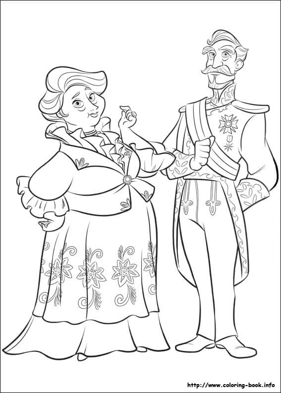 Luisa Francisco Elena of Avalor Coloring Page