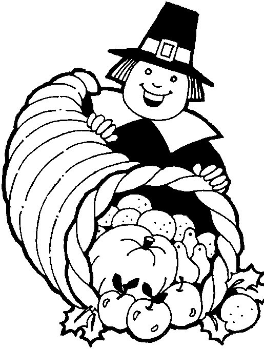 9 A Kind Man Thanksgiving coloring page