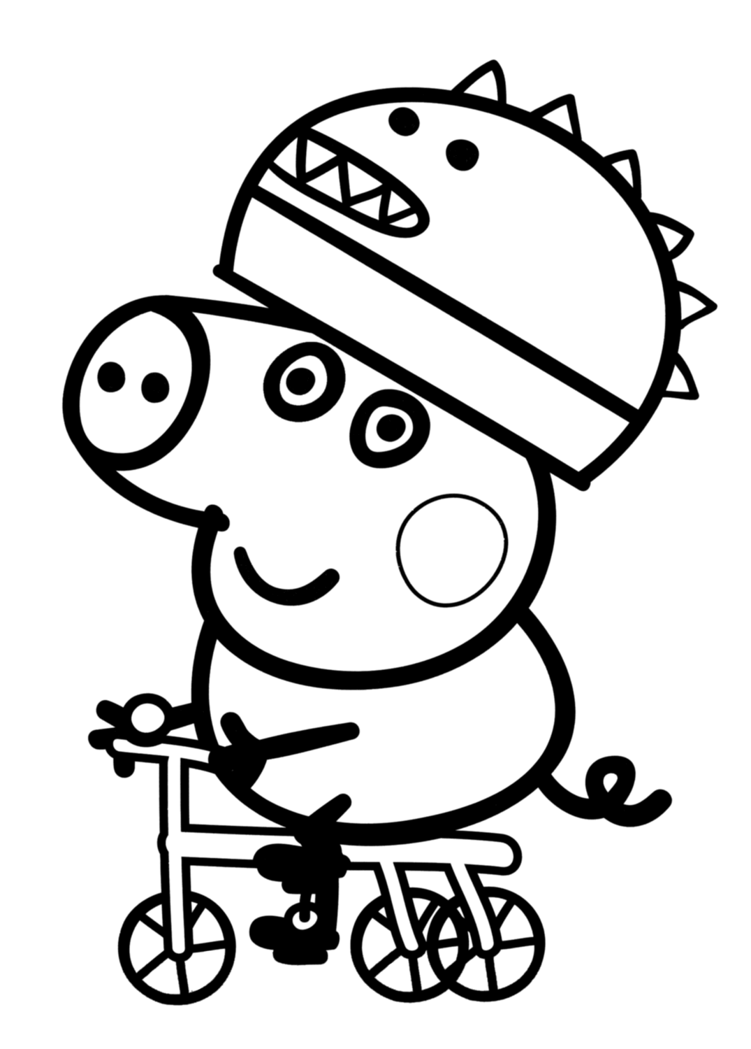30 Printable Peppa Pig Coloring Pages You Won\'t Find Anywhere