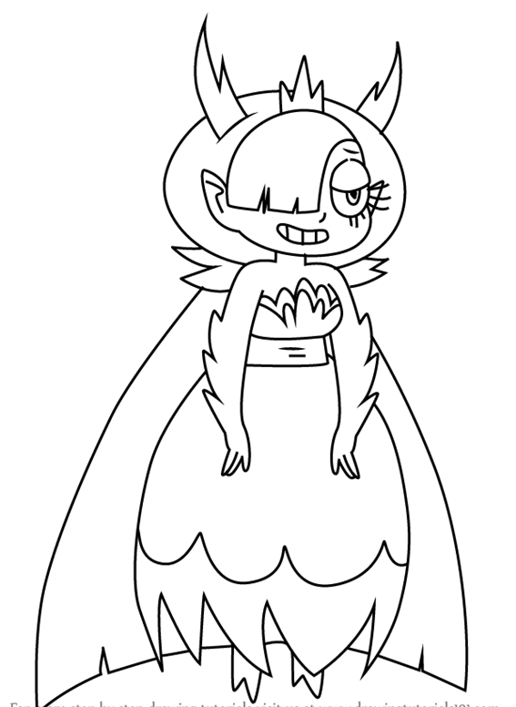 Hekapoo Star vs. the Forces of Evil Coloring Page