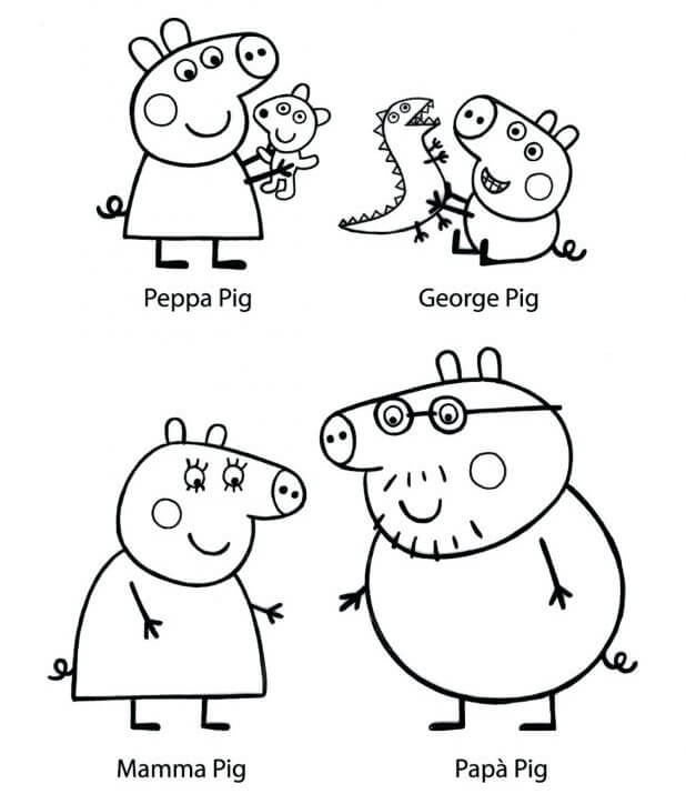 Peppa Pig's Family