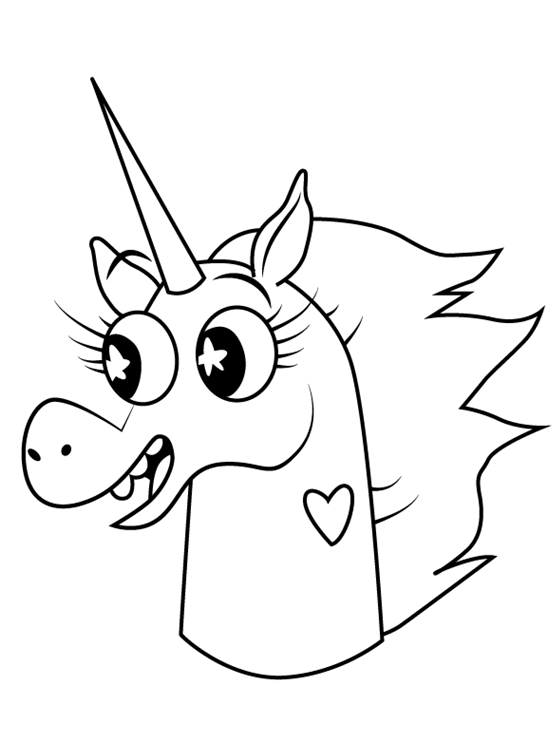 Pony Head Star vs. the Forces of Evil Coloring Page