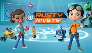 Rusty Rivets Coloring Pages To Print