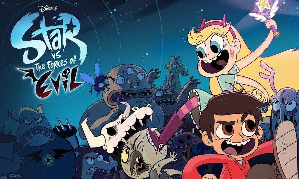 Star vs. the Forces of Evil Coloring Pages