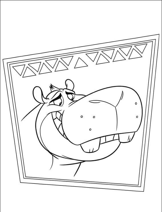 The Lion Guard Beshte Coloring Page