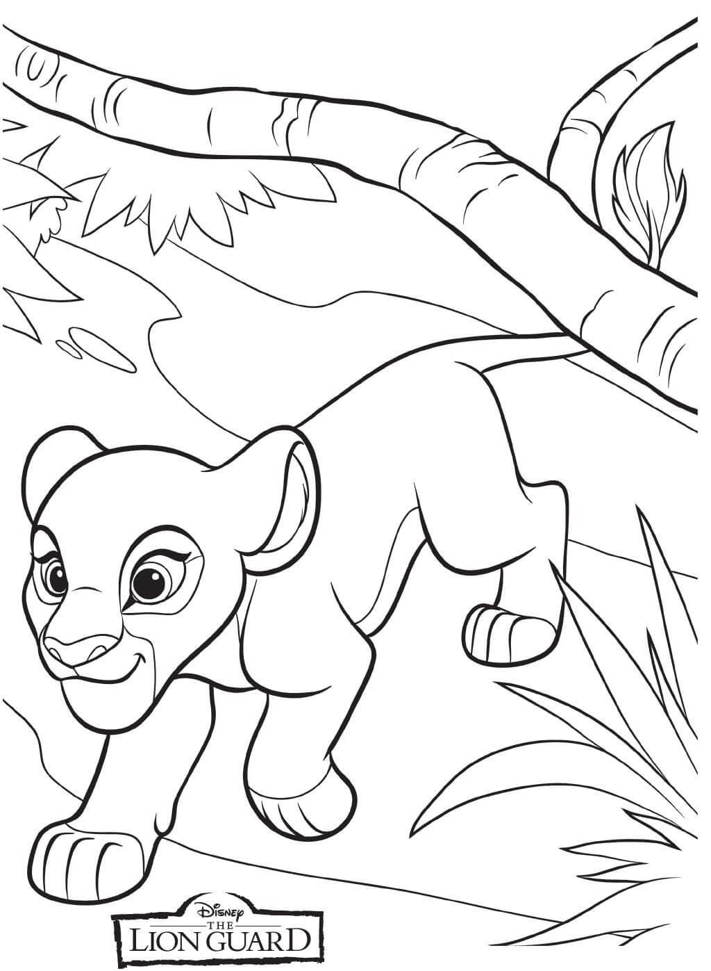 20 Printable The Lion Guard Coloring Pages
