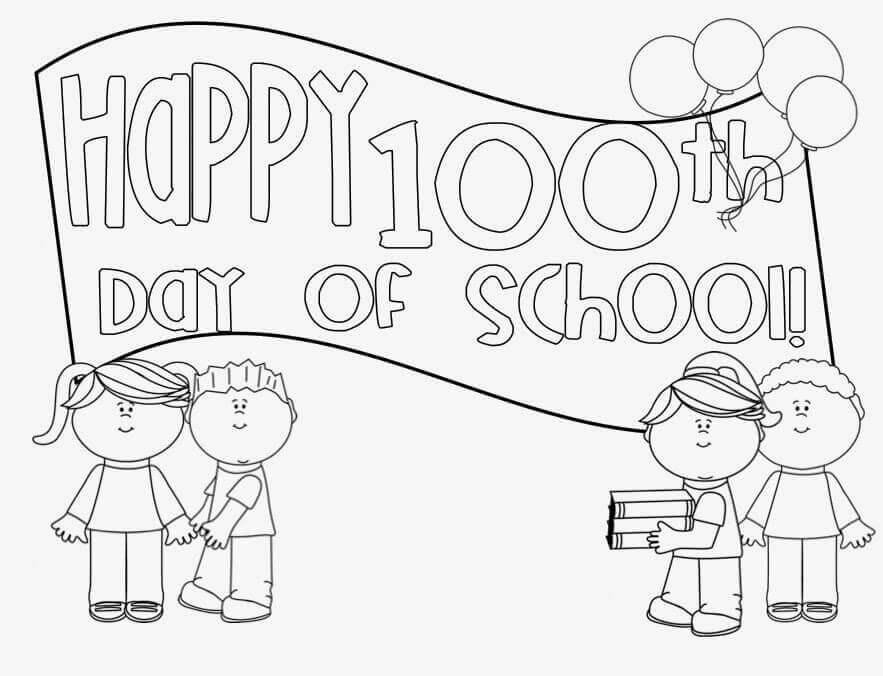 Free Printable 100 Days Of School