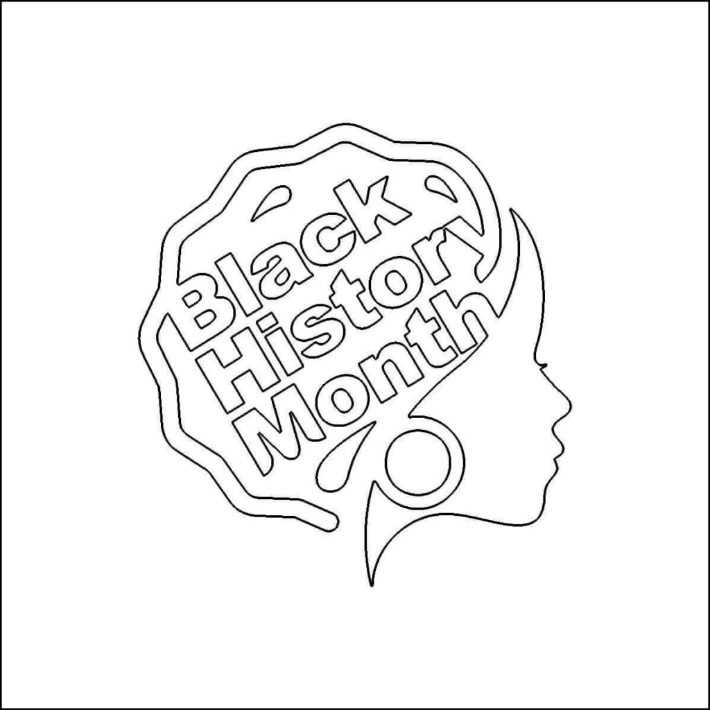 22 Free Printable Black History Month Coloring Pages