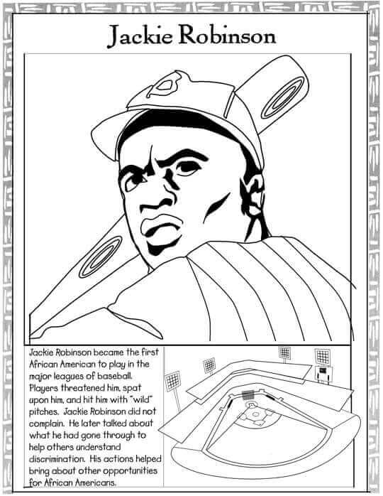 black history printable coloring pages | 20 Free Printable Black History Month Coloring Pages