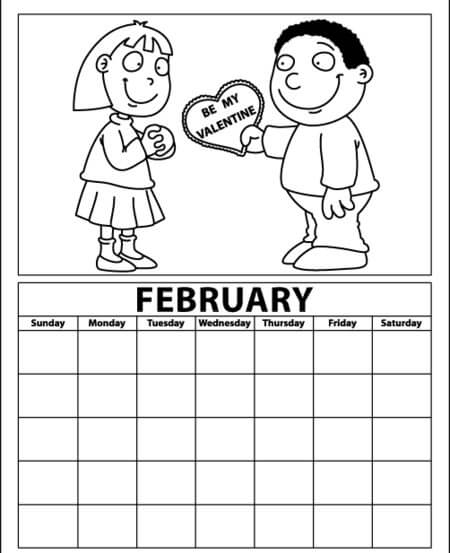 Free February Activity Sheets
