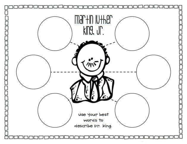 Free Martin Luther King Jr Activity Sheets
