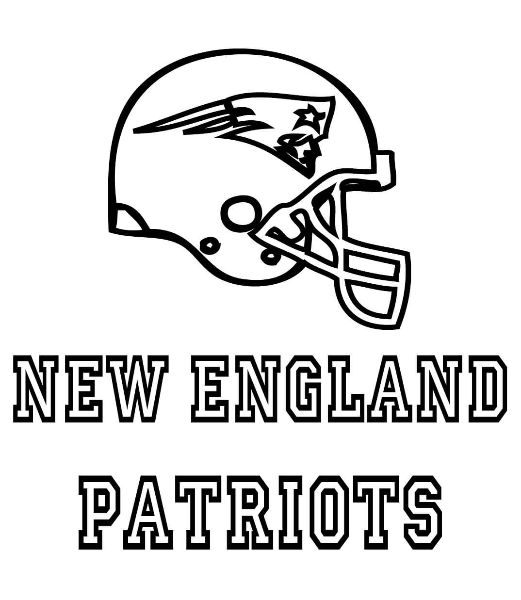 free new england patriots coloring pages