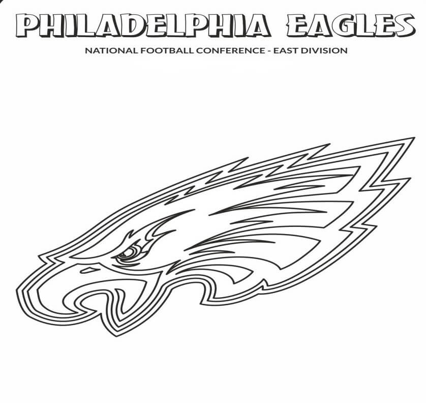 Free Printable Philadelphia Eagles Coloring Pages