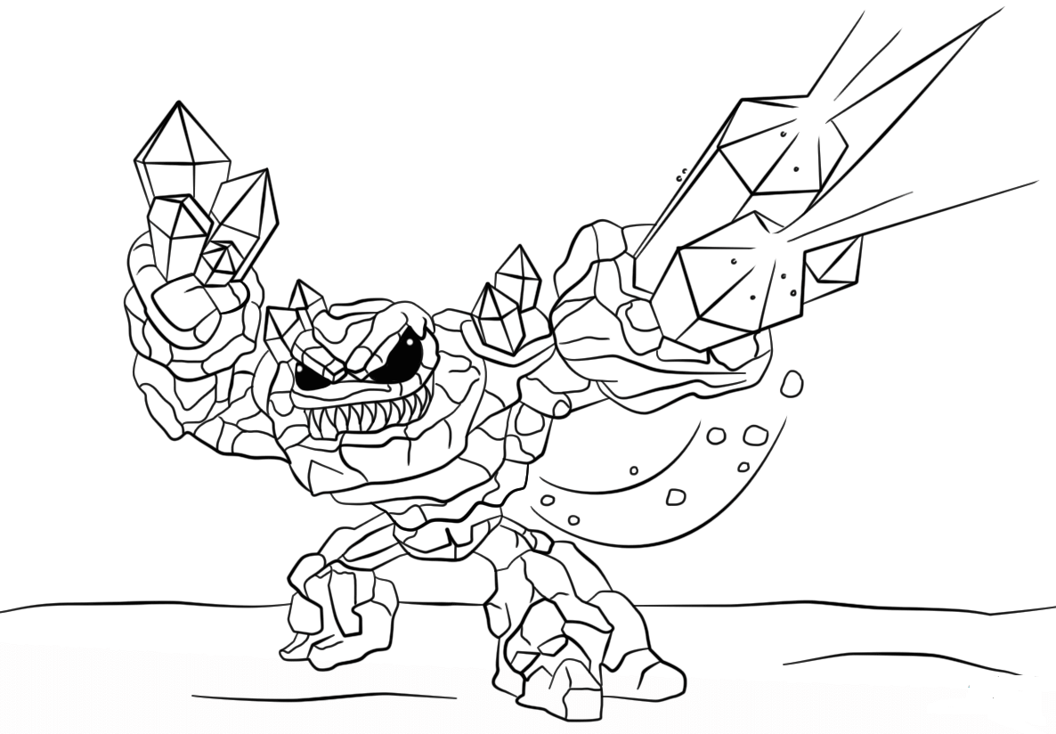 Hyper Beam Skylanders Coloring Pages