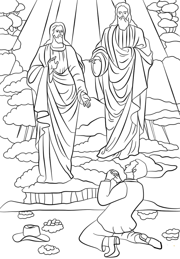 Latter Day Saints Coloring Pages (LDS Coloring Pages)