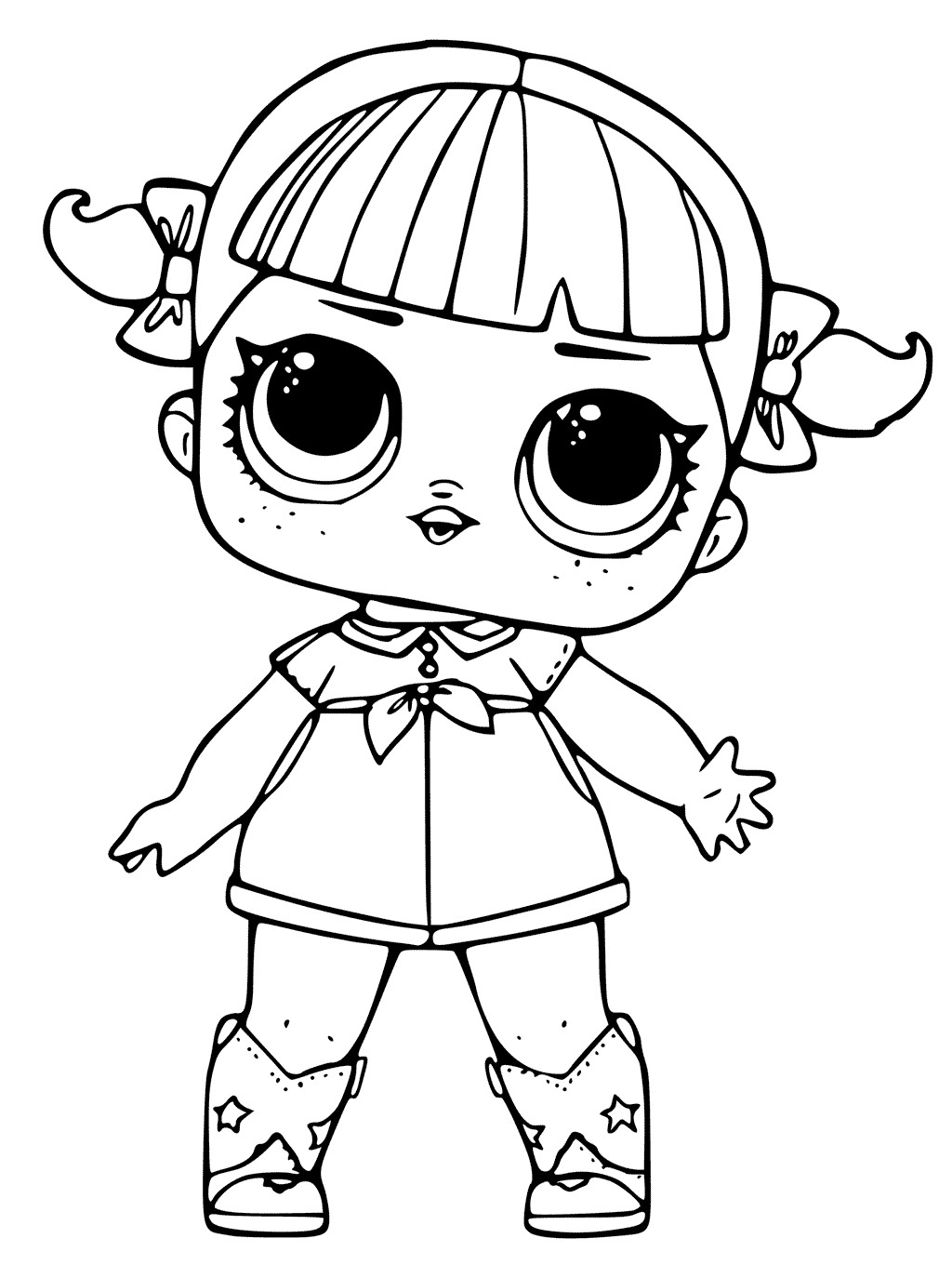 coloring pages dolls - photo#2
