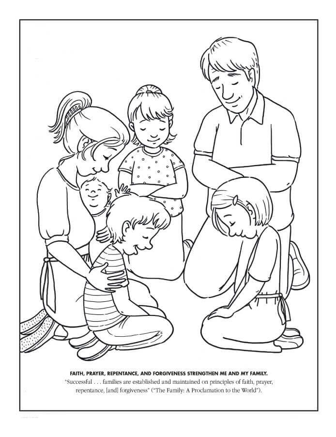 Latter Day Saints Coloring Pages free