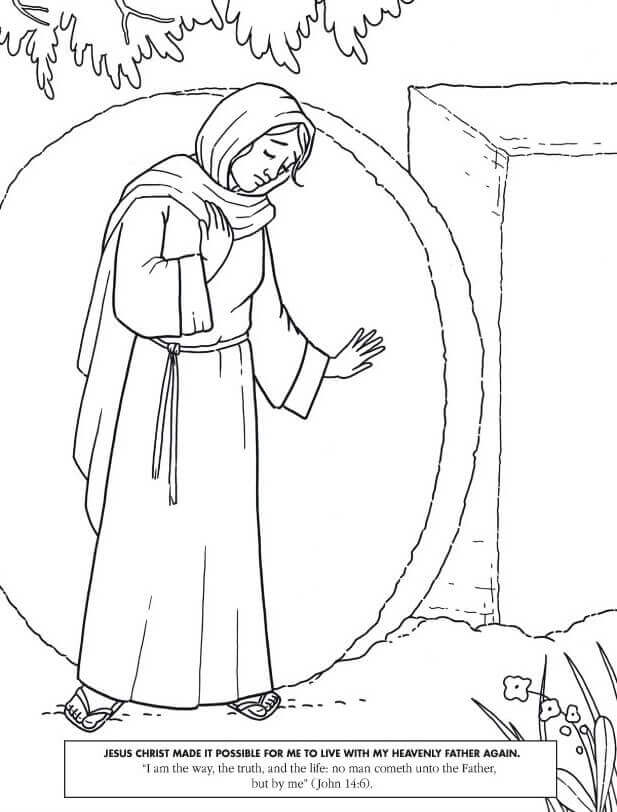 latter day saints coloring pages - Saints Coloring Pages