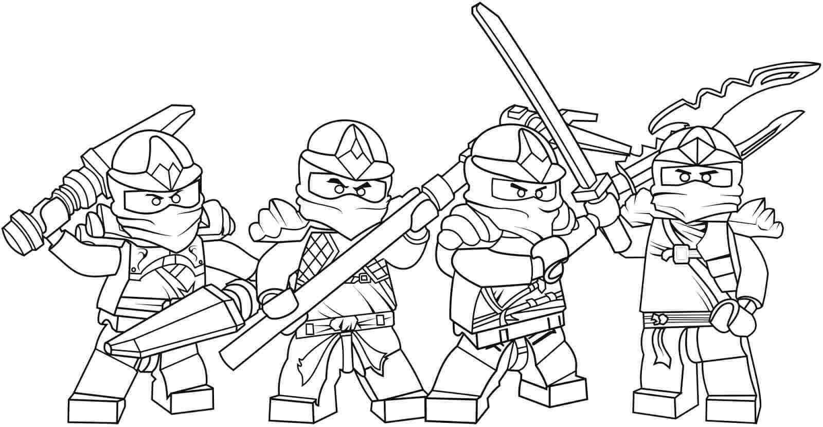 30 free printable lego ninjago coloring pages for Coloring pages of ninjas