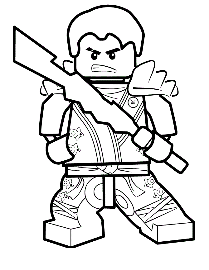Lego Ninjago Coloring Pages Sensei Garmadon