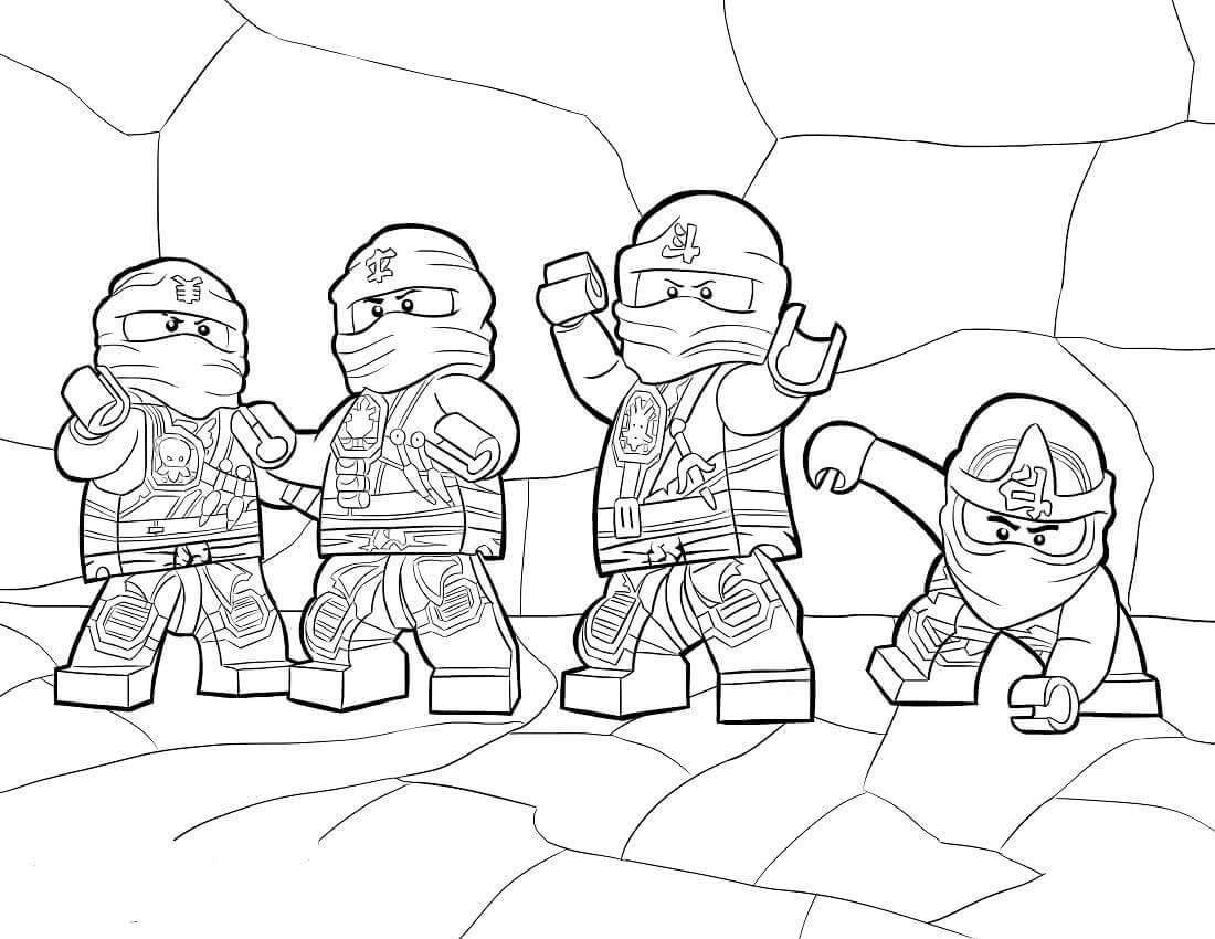 Lego Ninjago Coloring Pictures