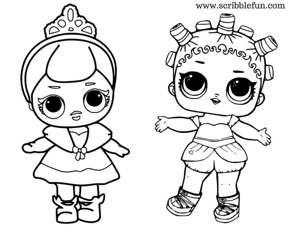 coloring pages dolls - photo#32
