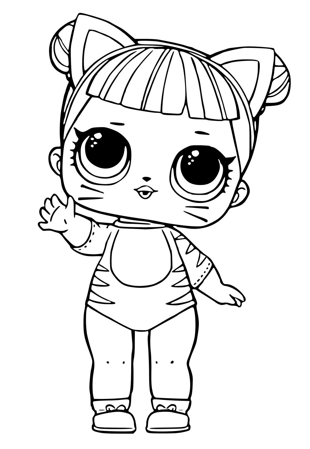Doll Coloring Pages To Print