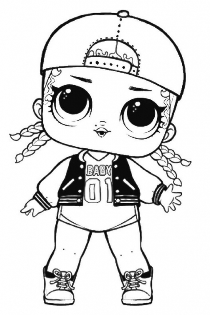MC Swag Lol Suprise Doll Coloring Page Surprise Pages Printable Dolls View And Print Full Size