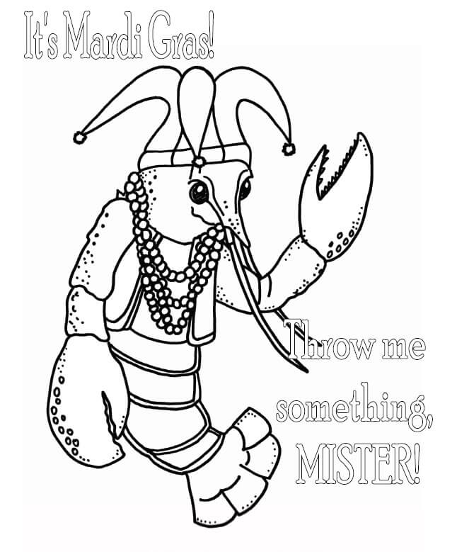 coloring pages mardi gras - photo#29