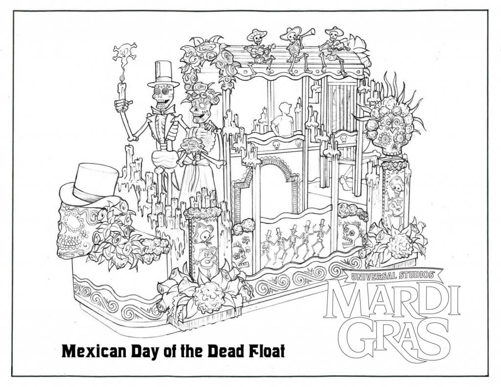 parade coloring pages - photo#42