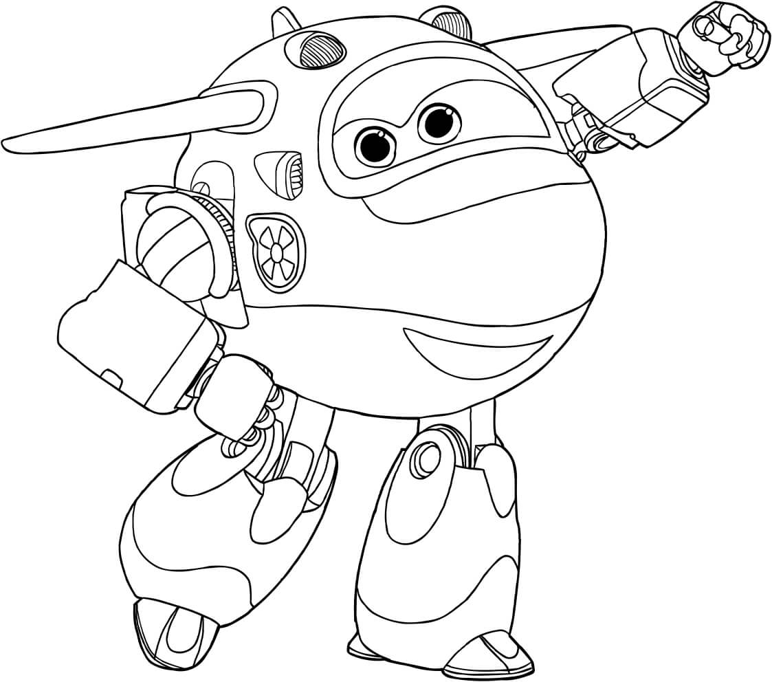 Free printable super wings coloring pages for Disegni da colorare super wings