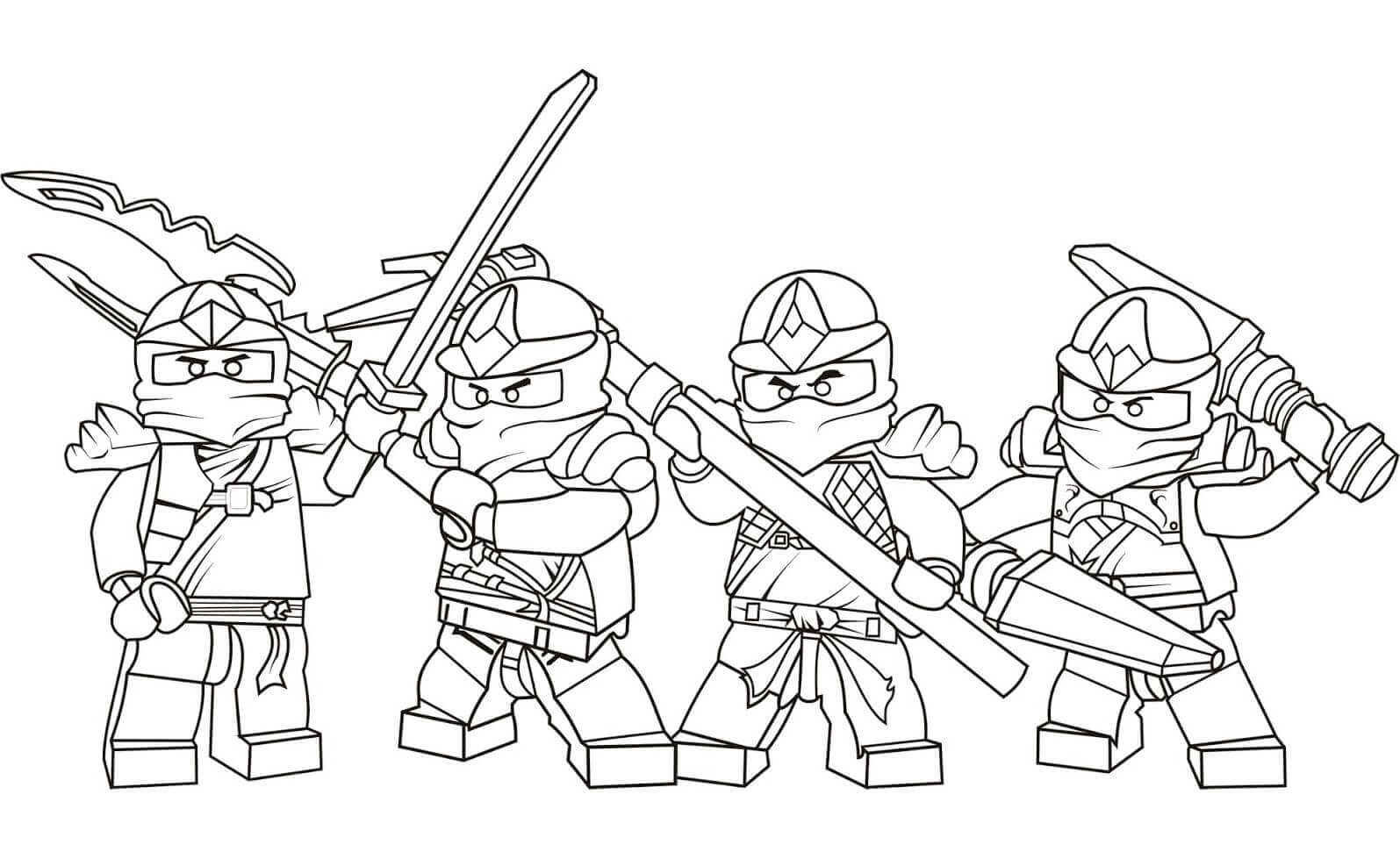 ninjago zx series coloring pages