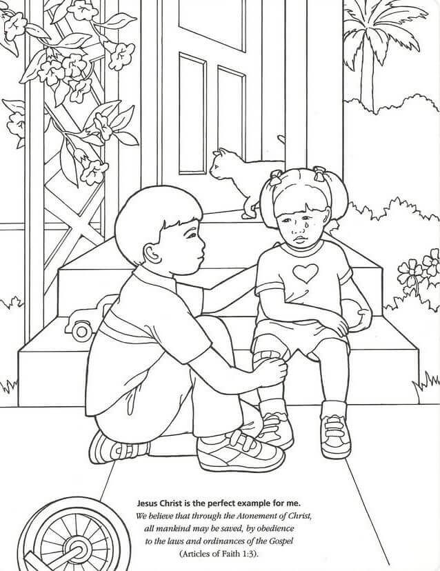 Printable LDS Coloring Pages