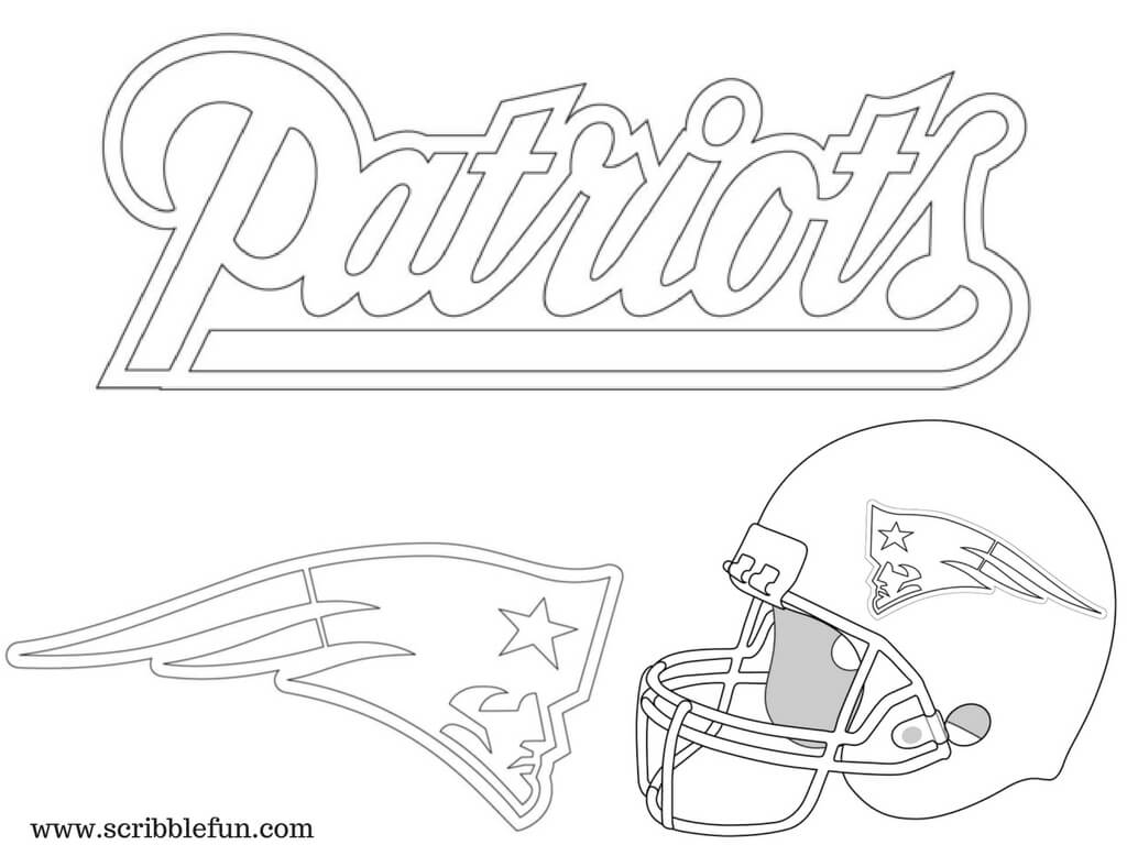 Printable New England Patriots Coloring Pages