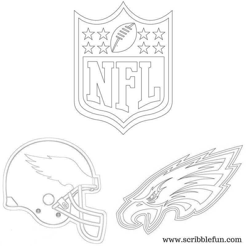 Printable Philadelphia Eagles Coloring Pages Printable