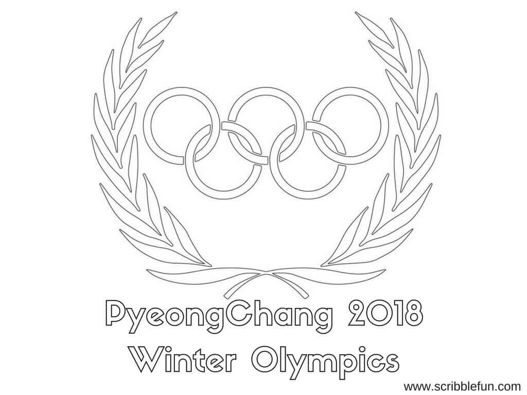 PyeongChang 2018 Winter Olympics Coloring Pages To Print, Olympics 2018 Coloring Pages, 2018 Olympics Logo Coloring Pages, Winter Olympics 2018 Coloring Pages, PyeongChang 2018 Winter Olympics Coloring Pages To Print