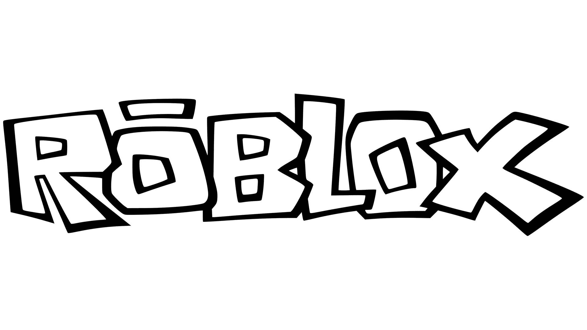 Roblox Logo Coloring Page