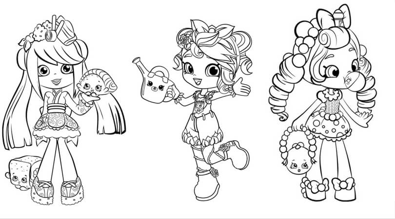 shopkins shoppies coloring page