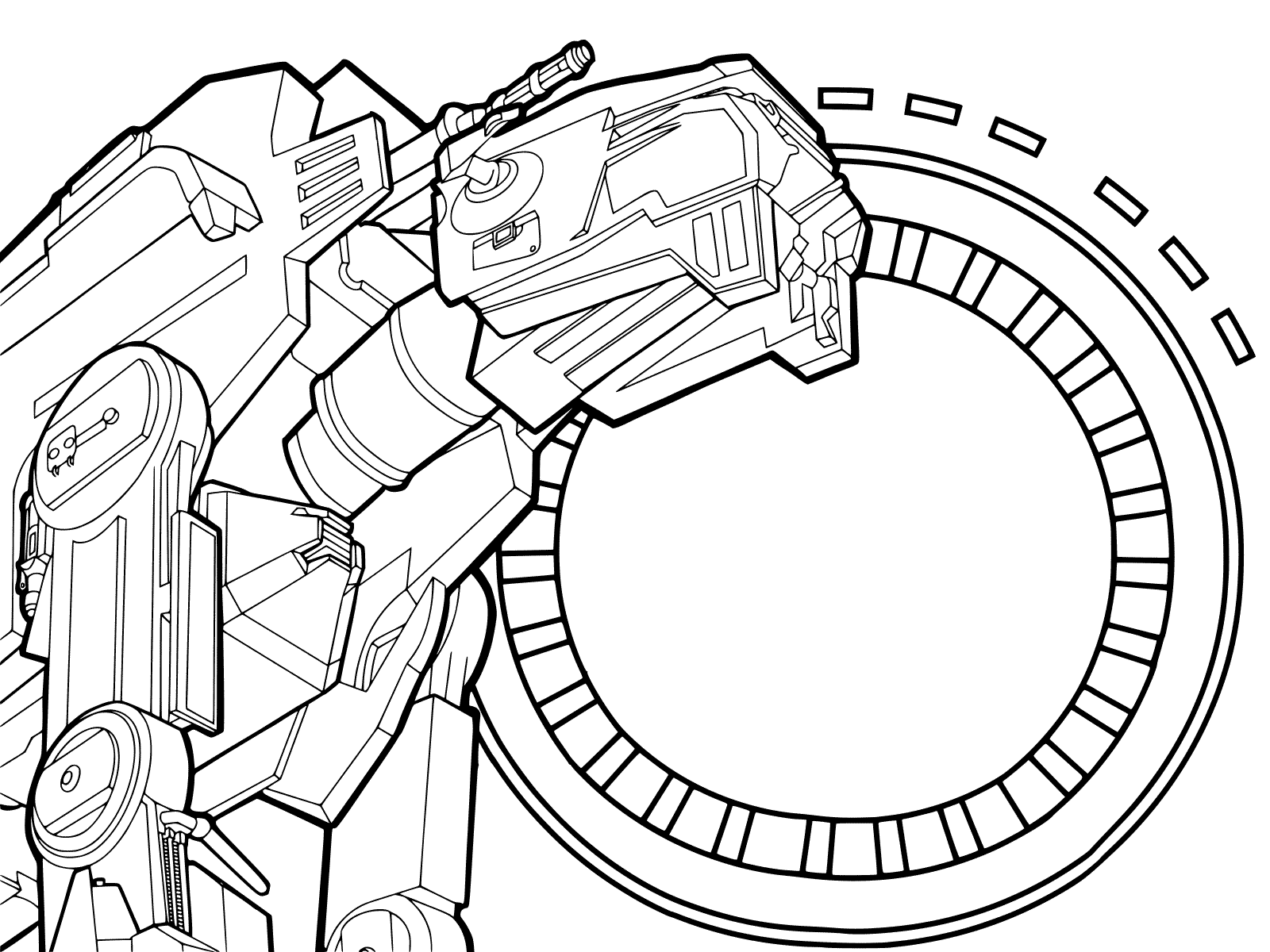 Star Wars Combat Walker AT-AT Coloring Page