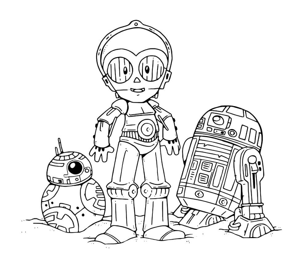 Star Wars The Last Jedi Coloring Pages