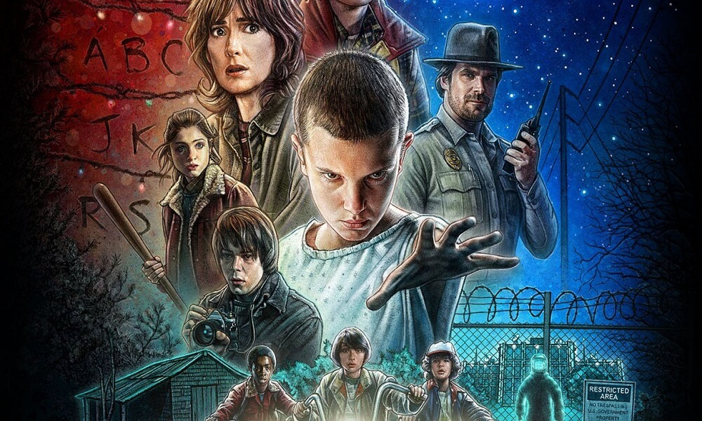 Stranger Things Coloring Images