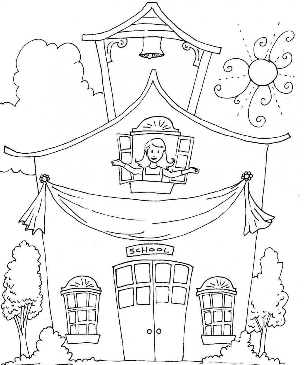 sunday school coloring pages printable - photo#21